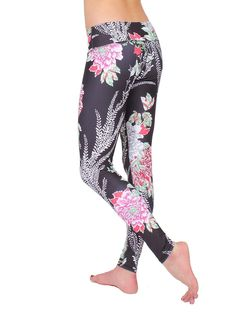 Anjali The Ferocity Printed Yoga Leggings for Women Eco Friendly   Want  additional info  Click a71ed93535594