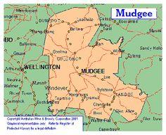 Mudgee wine area