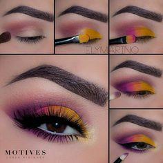 Eye Makeup Tips – How To Apply Eyeliner – Makeup Design Ideas Makeup Eye Looks, Eye Makeup Steps, Cute Makeup, Skin Makeup, Makeup Brushes, Weird Makeup, Awesome Makeup, Zombie Makeup, Halloween Makeup