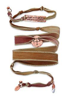 Thinkgeek Tolkien Silk Wrap Bracelet Tutorial Bracelets Beaded