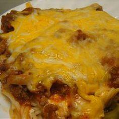 Spaghetti Pie III Allrecipes.com