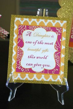 Princess Moraccan Baby Shower Party Ideas   Photo 2 of 23   Catch My Party