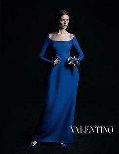 Valentino F/W 13.14: Laura, Magdalena, Kati, Sasha, Erika, Sam, Maud, Anouk, Irina and Tamara are Dutch Golden Age Masterpieces by Inez & Vinoodh