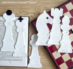 Ehi, ho trovato questa fantastica inserzione di Etsy su https://www.etsy.com/it/listing/243320078/077-chess-6-bookmarks-amigurumi-crochet