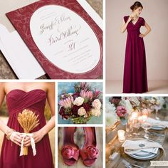 Wedding Inspiration: Fall Elegance( floor length dress w sleeves would be good for late fall outdoor wedding)