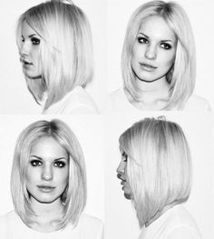 really long bob - if i decide to ever cut my hair short! Boho Hairstyles For Long Hair, Bob Hairstyles For Thick, My Hairstyle, Pretty Hairstyles, Short Haircuts, Layered Haircuts, Braided Hairstyles, Wedding Hairstyles, Blonde Makeup