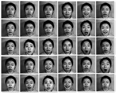Figure 2. A few samples of facial expression on the JAFFE database