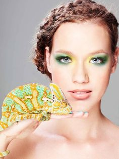 Beauty and Reptiles. Beauty shoot for episode 5 of GNTM