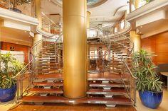 Hotel RH Victoria - Hall y escaleras