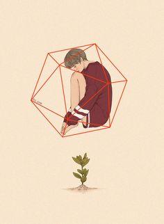 언제나 변함이 없다고 생각이 들면서도 천천히 자라나는 식물처럼 어느샌가 조금씩