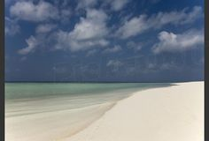 White sands beach and blue sea