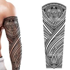 Maori Tattoo Arm, Tatto Ink, Biomechanical Tattoo, Polynesian Tribal Tattoos, Tribal Sleeve Tattoos, Turtle Tattoo Designs, Maori Tattoo Designs, Full Arm Tattoos, Body Art Tattoos