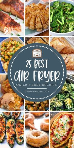 Check out these yummy air fryer recipes for quick and easy dinner, lunch and snack ideas. #yum #airfryer #recipes #food #dinnerideas #snackideas #foodie #keto #healthymeals Air Fry Recipes, Veggie Recipes, Healthy Recipes, Easy Recipes, Easy Freezer Meals, Quick Easy Meals, Instant Pot Pressure Cooker, Pressure Cooker Recipes, Best Air Fryers