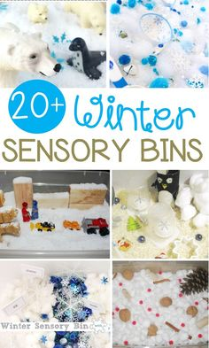 Sensory bins are gre