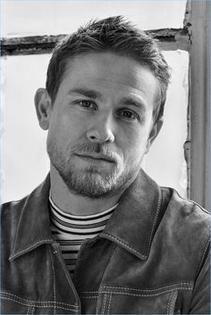 Charlie Hunnam Goes Casual for Mr Porter Shoot, Talks David Beckham & 'King Arthur' Charlie Hunnam Soa, My Sun And Stars, Portraits, Mr Porter, Sons Of Anarchy, Poses, Tom Hardy, David Beckham, Good Looking Men