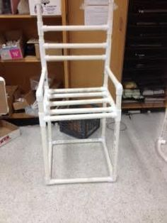 We are going to sow you haw to make a chair out of pvc pipe.