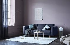 Color+Trend+2017/18:+10+examples+of+Violet+walls+via+Eclectic+Trends