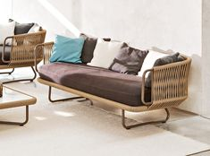 Varaschin - Babylon Lounge Armchair with Scatter Cushions - Google Search