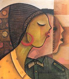 "Pintura de João Timane artista de Moçambique. Título: casal cristão joaotimane-joaotimaneart-desenhosartisticos-pinturasafricanas-moçambique-artesplasticasmoçambicanas-pintoresdemocambique-#artisticpaintings-illustration-africanpainting <div style=text-align: center;""><img src="" https://br.pinterest.com/joao_timane "" alt="" pintura-de-joao-timane-artista-de-mocambique"" border=0 width=""200"" height=""57""/></div>"