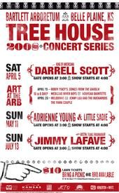 I love their annual posters for their concerts.  Tree House Concert Series 2008.