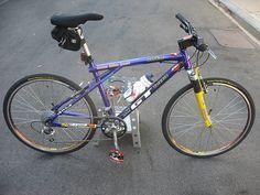 Slick tires for mountain bike commuting Gt Mountain Bikes, Mountain Biking, Gt Bikes, Gary Fisher, Vintage Bikes, Retro Bikes, Best Tyres, Commuter Bike, Bike Design