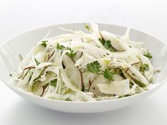 Pear and Fennel Salad from FoodNetwork.com