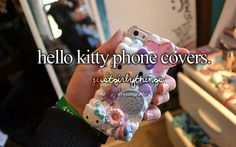 Hello kitty phone covers // just girly things