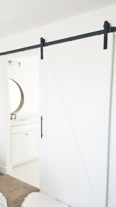 1000 images about avery room on pinterest modern for Ikea barn door hardware