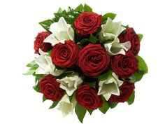 Online valentine's day flowers delivery to Belgium from Giftblooms to say Order Flowers, Send Flowers, Unique Flowers, Flower Bouquets, Valentines Flowers, Christmas Flowers, White Lilies, White Flowers, Buy Roses