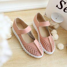 $12.00 (Buy here: https://alitems.com/g/1e8d114494ebda23ff8b16525dc3e8/?i=5&ulp=https%3A%2F%2Fwww.aliexpress.com%2Fitem%2FPlus-big-Size-ladies-shoes-women-shoes-women-falts-sapato-feminino-summer-style-summer-shoes-chaussure%2F32640191103.html ) 2016 Top Fashion Real Oxford Shoes For Women Plus Big Size Ladies Shoes Women Falts Sapato Feminino Style Chaussure Femme B-7  for just $12.00