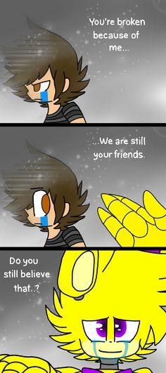 "Awwww :') ""Are we still friends"""