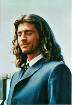 Joe Lando - On the set of Dr. Quinn Medicine Woman