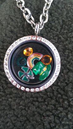 St Patrick's Day locket from South Hill Designs https://www.southhilldesign.com/michellegallant