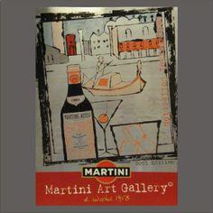 Art MARTINI Rosso ART GALLERY Andy Warhol SERI-GRAFICA RIVETTI.