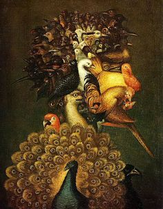 Air by Giuseppe Arcimboldo 1527-1593