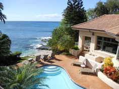 Stunning Beachfront Estate with Pool and Spa - VRBO