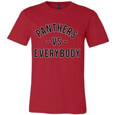 PANTHERS VS Everybody (Clark Atlanta inspired - black)