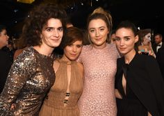 Saoirse Ronan Photos Photos - Actresses Gaby Hoffmann, Kate Mara, Saoirse Ronan and Rooney Mara pose during The 22nd Annual Screen Actors Guild Awards at The Shrine Auditorium on January 30, 2016 in Los Angeles, California. 25650_013 - The 22nd Annual Screen Actors Guild Awards - Show