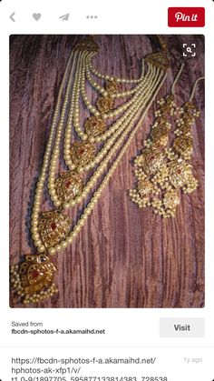 gold jewelry online europe by gold jewelry in silver cleaner to champagne gold jewelry set our vintage gold filigree jewelry box India Jewelry, Pearl Jewelry, Wedding Jewelry, Antique Jewelry, Jewelry Sets, Gold Jewelry, Indian Wedding Jewellery, Filigree Jewelry, Gold Filigree