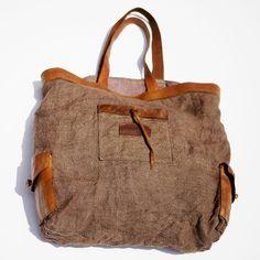 Fancy - Montaecristo Leather & Jute Tote