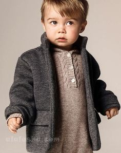 The new AW14 kids' collection from Burberry are the perfect mini-me fashion for your children