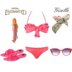 Giselle Inspired ~ Pool Party Outfit