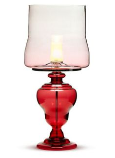 Moooi Kaipo Too red table lamp