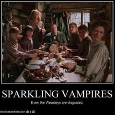 Sparkling Vampires? Ew