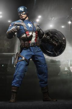Captain America / 12 inch Figure - Sideshow Collectibles