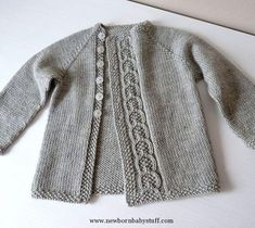 Child Knitting Patterns Baby Knitting Patterns Ravelry: knittingant's Olive You Baby cardigan Additional Child Knitting Patterns Baby Knitting PatternsThis Olive You Baby Cardigan Free Knitting Pattern is a simple and warm jacket perfect for both gen Baby Knitting Patterns, Baby Cardigan Knitting Pattern Free, Crochet Baby Jacket, Baby Sweater Patterns, Knitted Baby Cardigan, Knit Baby Sweaters, Knitted Baby Clothes, Baby Clothes Patterns, Knitting For Kids