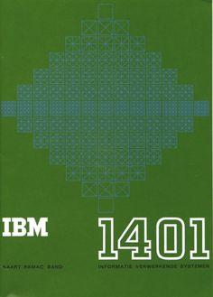 Wim Crouwel – IBM 1401 – 1961