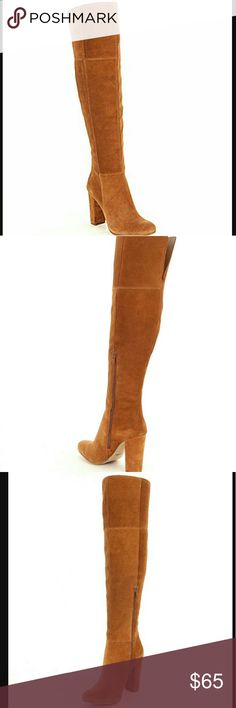 New Gianni Bini Leather Suede Over Knee Sizes 7.5 & 8. New Gianni Bini Ventah Leather Suede Over the Knee Boots Gianni Bini Shoes
