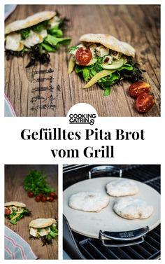 Rezept für Pita Brot vom Grill, Pita Brot Rezept, Brot vom Grill, Grillbrot, Pita Rezept, Pita Brot backen, Weber Grill, Rezept Pizzastein