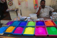 Rangoli Colors for Diwali